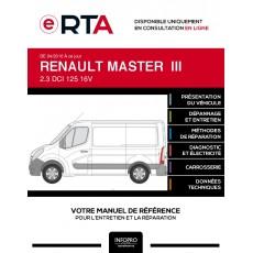 E-RTA Renault Master III FOURGON 4 portes de 04/2010 à ce jour