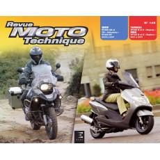 RMT 145.1 BMW R1200 (2003 à 2007) et YAMAHA/MBK YP125 (2001 à 2007)