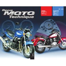 RMT 119.2 HONDA VT125 (1999 à 2001) et KAWASAKI ZR7 (2001 à 2003)