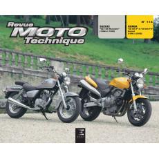 RMT 114.2 HONDA CB600 (1998 à 2002) et SUZUKI GZ125 (1998 à 1999)