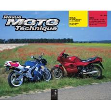 Arrêt RMT 90.2 SUZUKI RG125 (1992 à 1996) et BMW K1/K100/K1100 (1995 à 1998)