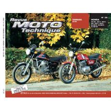 RMT 39 YAMAHA XS 500 et HONDA CX/GL 400-500-650