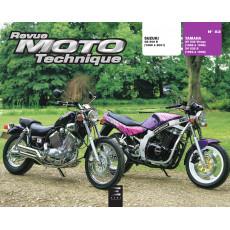 RMT 83 SUZUKI GS 500 E (1989 à 2001) et YAMAHA XV 535 VIRAGO (1988 à 1996)