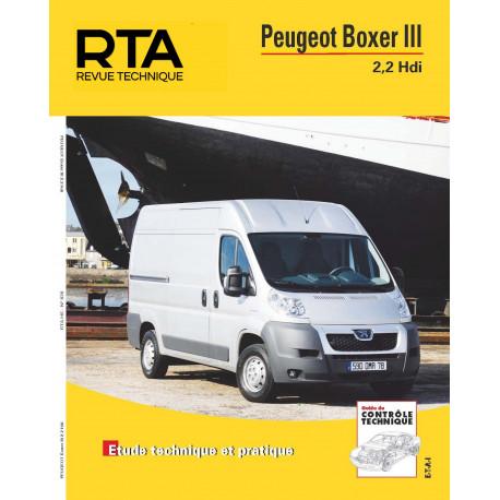RTA HS20 - Peugeot Boxer III 2,2 HDI