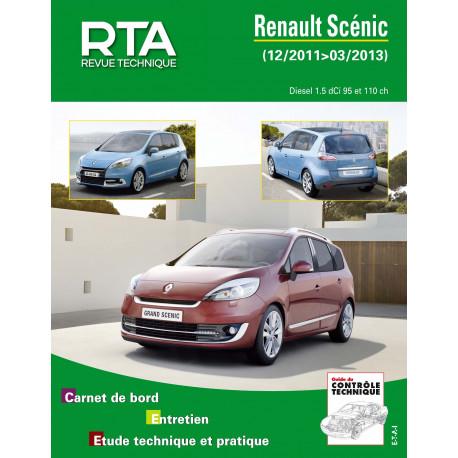RTA B788 RENAULT SCENIC III Ph.2 Depuis 2011-12