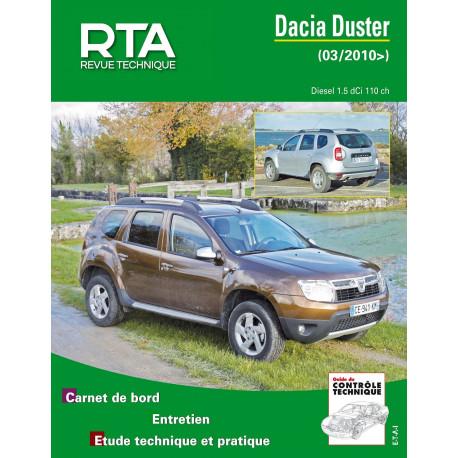 DACIA DUSTER 1.5 DCI 110CH (depuis 03/2010)