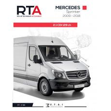 RTA 861 MERCEDES SPRINTER W906 (2009 à 2018)