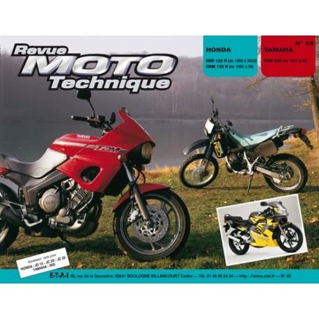 HONDA NSR 125 R CRM 125 RT et YAMAHA TDM 850