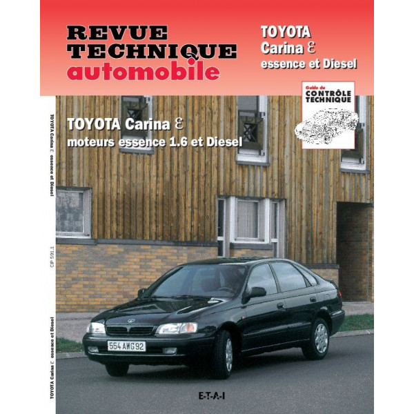 Revue Technique Toyota carina