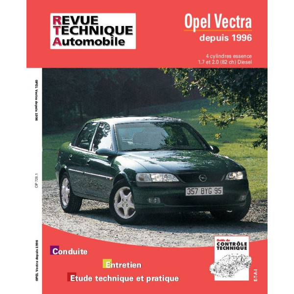 Revue Technique Opel vectra 2
