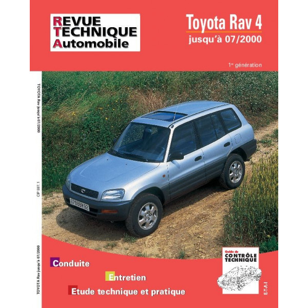 Revue Technique Toyota rav 4 essence