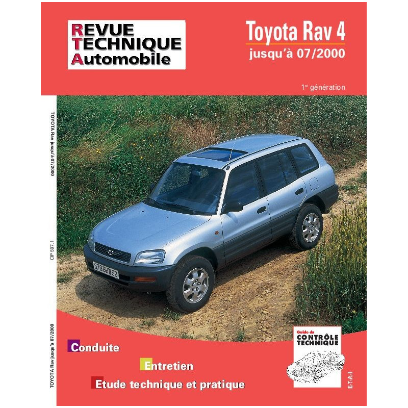 revue technique toyota rav 4 essence rta site officiel etai. Black Bedroom Furniture Sets. Home Design Ideas