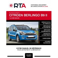 E-RTA Citroen Berlingo II BREAK 4 portes de 02/2012 à 09/2015
