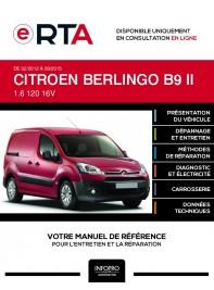 E-RTA Citroen Berlingo II FOURGON 4 portes de 02/2012 à 09/2015