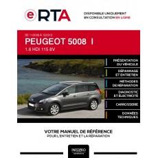E-RTA Peugeot 5008 I MONOSPACE 5 portes de 11/2009 à 12/2013