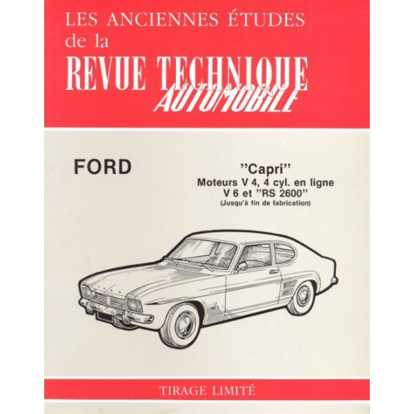 Revue Technique Ford capri