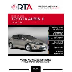 E-RTA Toyota Auris II HAYON 5 portes de 12/2012 à 12/2015