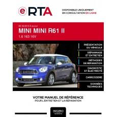 E-RTA Mini Mini II COUPE 3 portes de 03/2013 à ce jour
