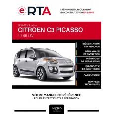 E-RTA Citroen C3 picasso MONOSPACE 5 portes de 09/2012 à ce jour