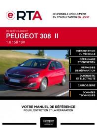 E-RTA Peugeot 308 II HAYON 5 portes de 06/2013 à 08/2017