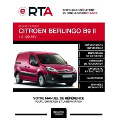 E-RTA Citroen Berlingo II FOURGON 3 portes de 02/2012 à 09/2015