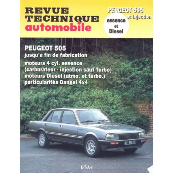 Revue Technique Peugeot 505