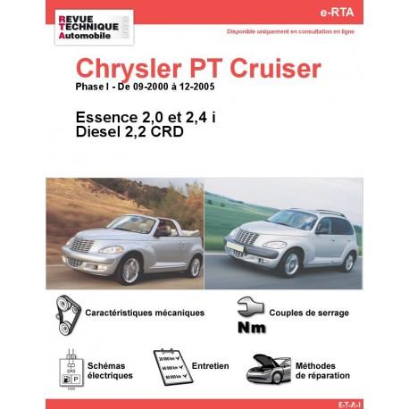 e-RTA Chrysler PT Cruiser Essence et Diesel (09-2000 à 12-2005)