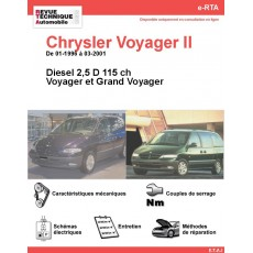 e-RTA Chrysler Voyager II et Grand Voyager II Diesel (01-1996 à 03-2001)