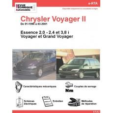 e-RTA Chrysler Voyager II et Grand Voyager II Essence (01-1996 à 03-2001)