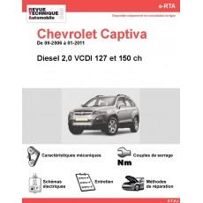 e-RTA Chevrolet Captiva Diesel (09-2006 à 01-2011)