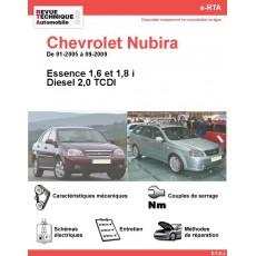 e-RTA Chevrolet Nubira Essence et Diesel (01-2005 à 09-2009)