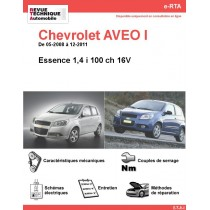 e-RTA Chevrolet AVEO I Essence (05-2008 à 12-2011)