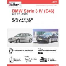 e-RTA BMW Série 3 IV (E46) Diesel (09-2001 à 09-2005) - 4 et 5P