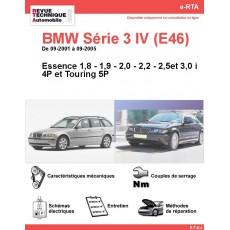 e-RTA BMW Série 3 IV (E46) Essence (09-2001 à 09-2005) - 4 et 5P
