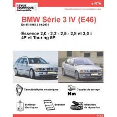 e-RTA BMW Série 3 IV (E46) Essence (05-1998 à 09-2001) - 4 et 5P