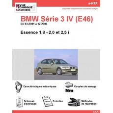e-RTA BMW Série 3 IV (E46) Essence (03-2001 à 12-2004)