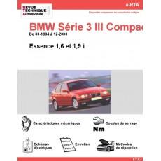 e-RTA BMW Série 3 III Compact (E36) Essence (03-1994 à 12-2000)
