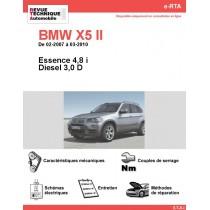 e-RTA BMW X5 II (E70) Essence et Diesel (02-2007 à 03-2010)