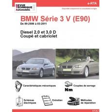 e-RTA BMW Série 3 V (E92/E93) Diesel (09-2006 à 03-2011) - Coupé et Cabriolet