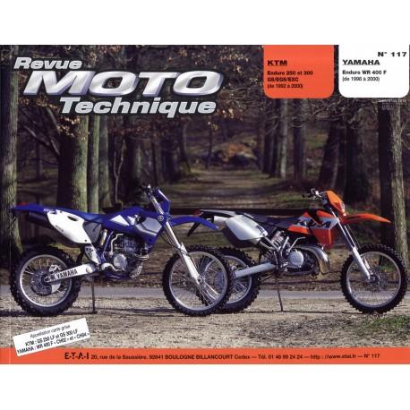 KTM 250/300 et YAMAHA WR 400