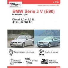 e-RTA BMW Série 3 V (E90/E91) Diesel (09-2008 à 12-2011) - 4 et 5P