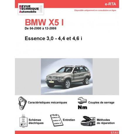 e-RTA BMW X5 I (E53) Essence (04-2000 à 12-2006)