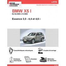 revue technique bmw x5 i rta site officiel etai. Black Bedroom Furniture Sets. Home Design Ideas