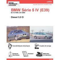 e-RTA BMW Série 5 IV (E39) Diesel 2,5 D (12-1995 à 07-2000)