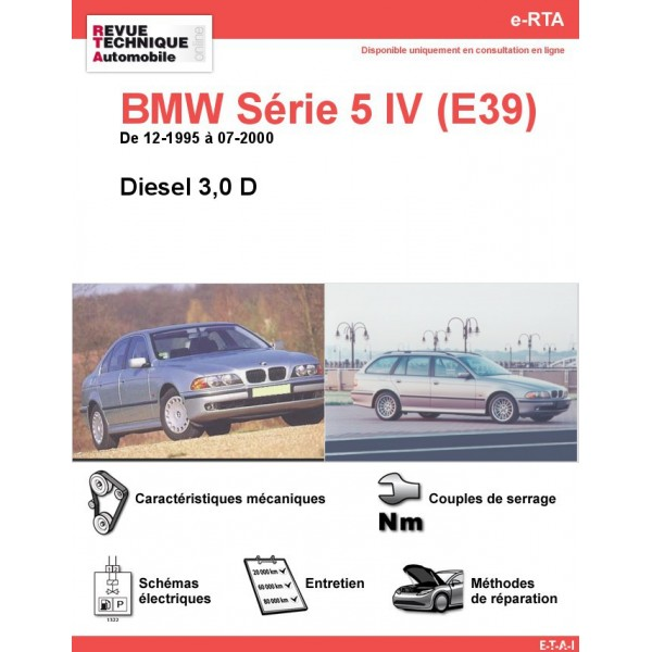 revue technique bmw 530d e39
