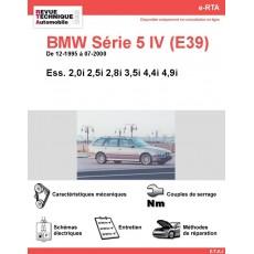 e-RTA BMW Série 5 IV (E39) Essence (12-1995 à 07-2000)