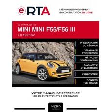 E-RTA Mini Mini III HAYON 3 portes de 01/2014 à ce jour