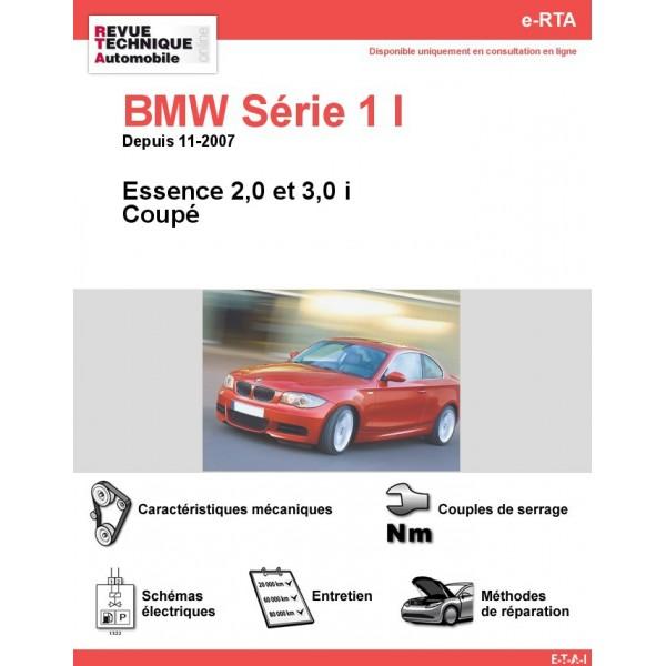 e-RTA BMW Série 1 I (E82) Essence (Depuis 11-2007)