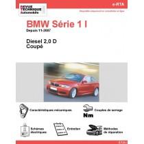 e-RTA BMW Série 1 I (E82) Diesel (Depuis 11-2007)