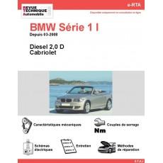 e-RTA BMW Série 1 I (E88) Diesel (Depuis 03-2008)